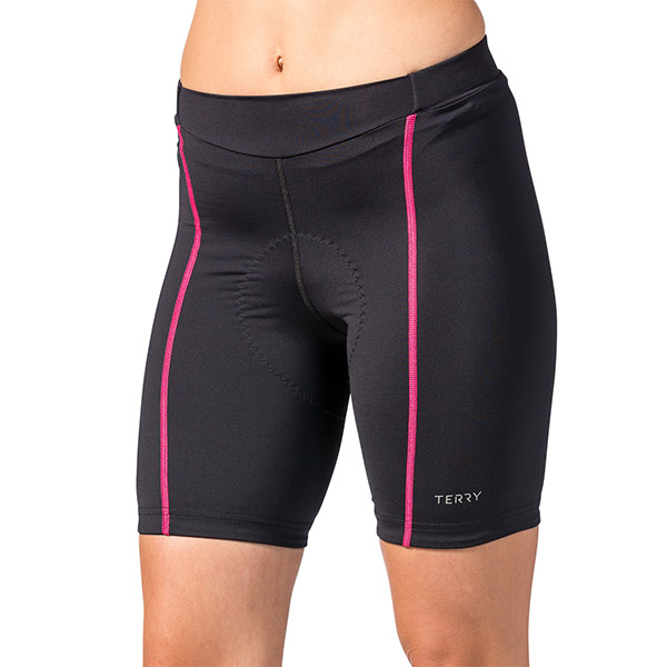 Terry - Bella Short - Black Pink - Women s Cycling Clothing ... e665d65aa